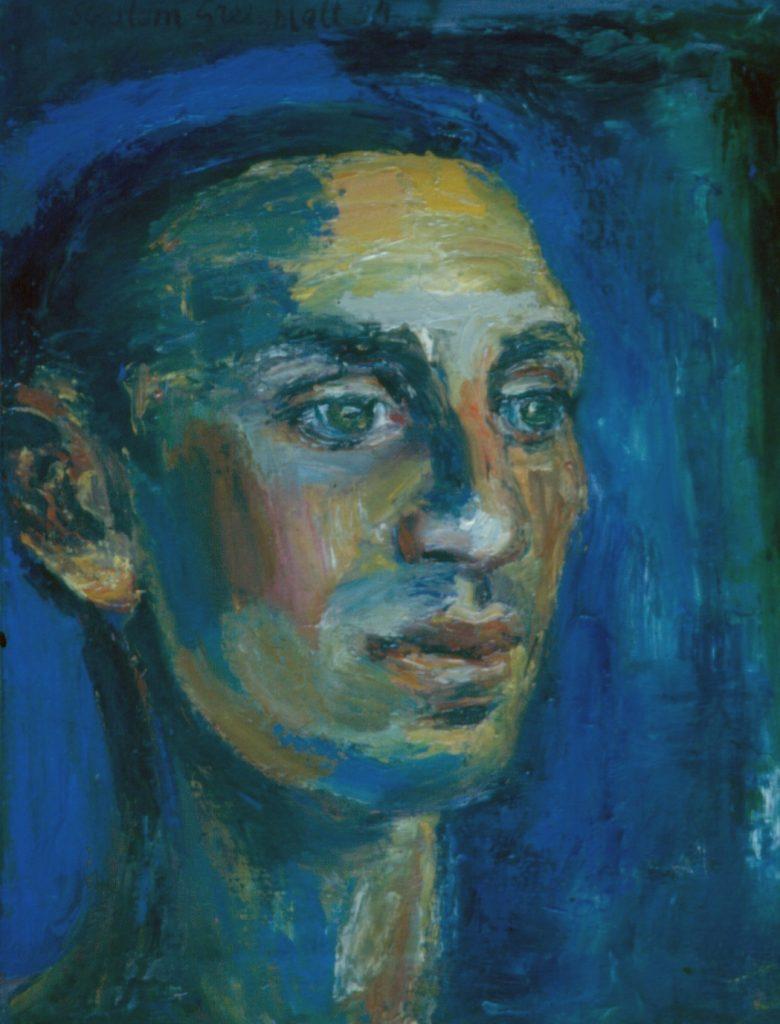 Proud portrait of young man