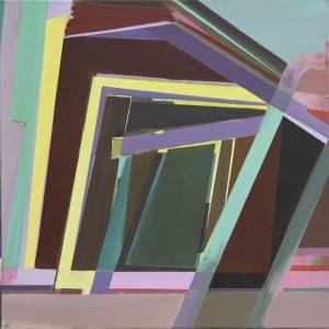 Aida, 2011, Acrylic on Canvas, 50 x 50 cm
