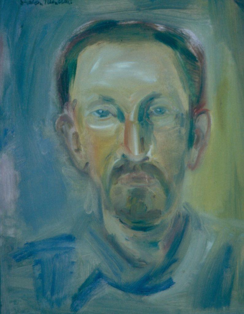 Anatoli Shinkar, 1993.Oil on Canvas 39x49cm