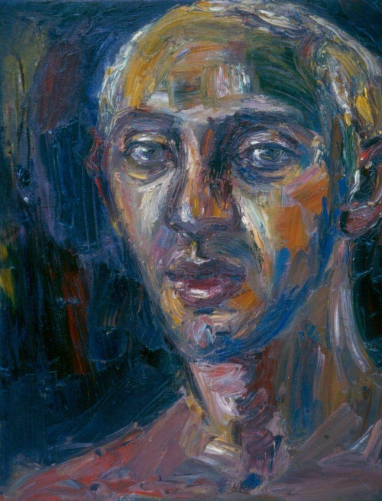 Brent Greenblatt II - Cover. 1993. Oil on Canvas