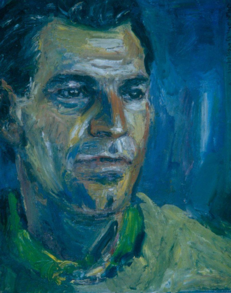 Brett Gage. 1994. Oil on Canvas 38x49cm