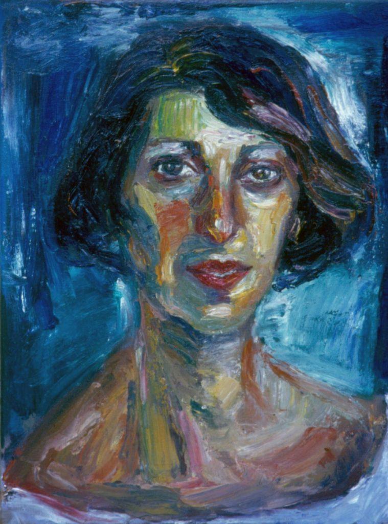 Chris. 1994.Oil on Canvas 38x49cm
