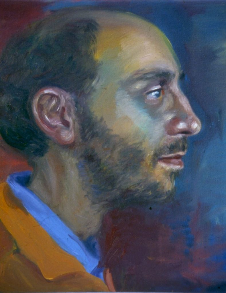 Christopher Peter. 1994. Oil on Canvas. 38x49cm