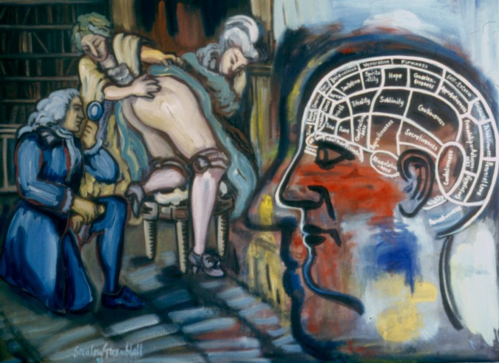 Curiosity, 1997 Oil on Canvas 146x114cm