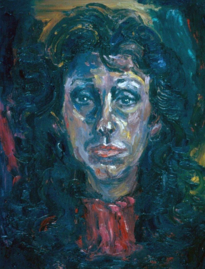 Estelle Jacobs. 1994.Oil on Canvas 38x49cm