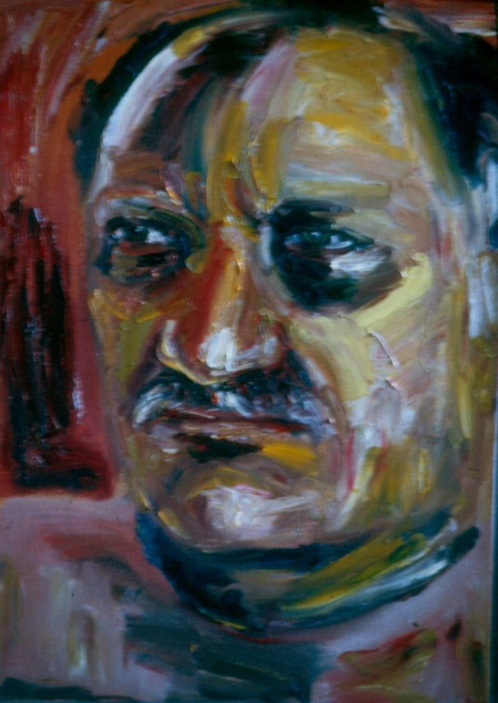Portrait of the Artist's late husband, Frank