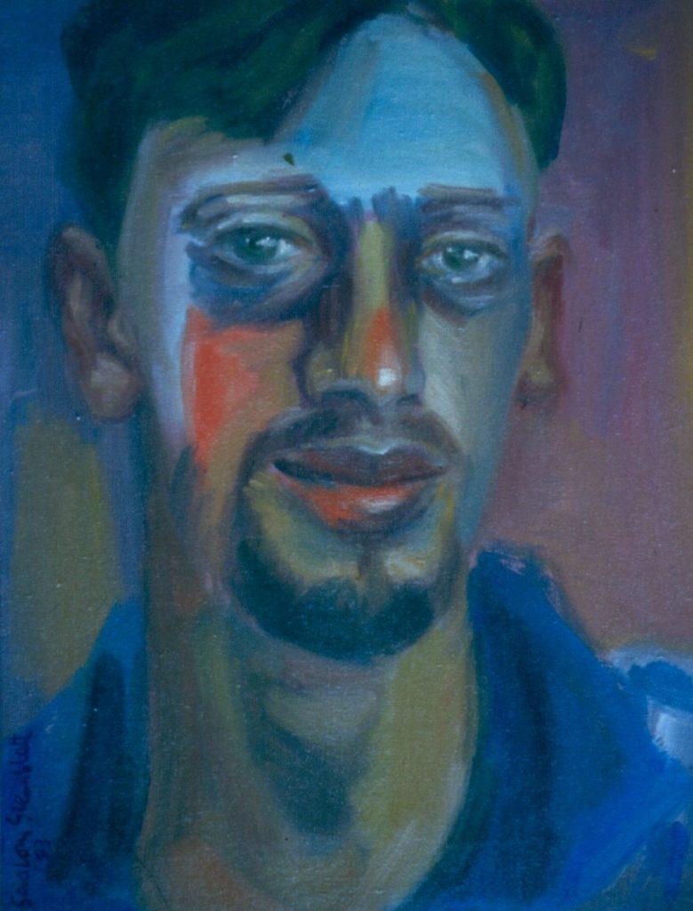 Federico Freschi. 1994. Oil on Canvas. 38x49cm
