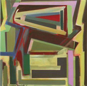 Gateway, 2011, Acrylic on Canvas, 50 x 50 cm