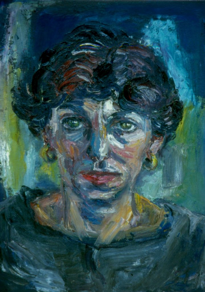 Glenda Mark. 1994. Oil on Canvas. 49x38cm