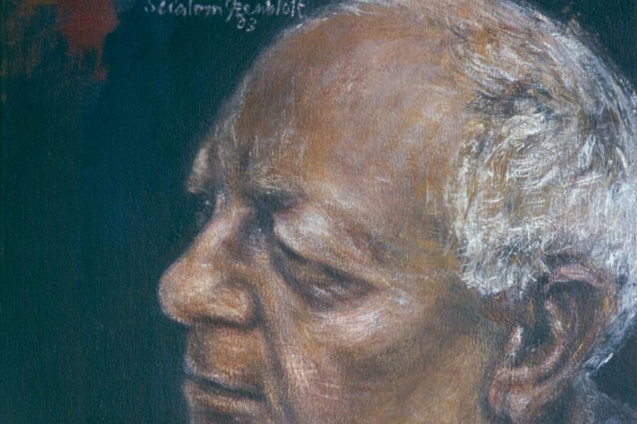 Hugh Herman, 2003. Acrylic on Canvas. 40x30cm