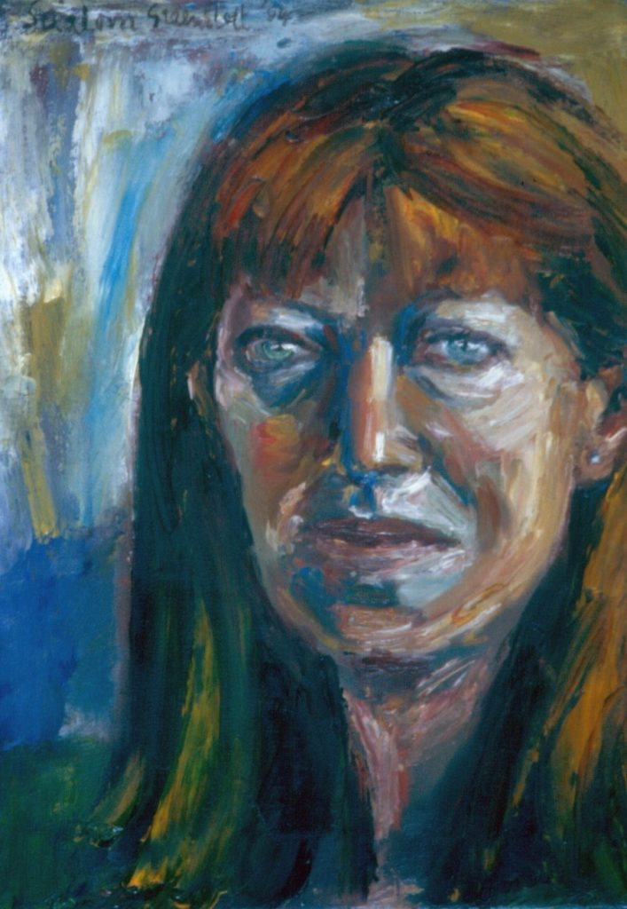 Jane Barenblatt. 1994. Oil on Canvas. 49x38cm