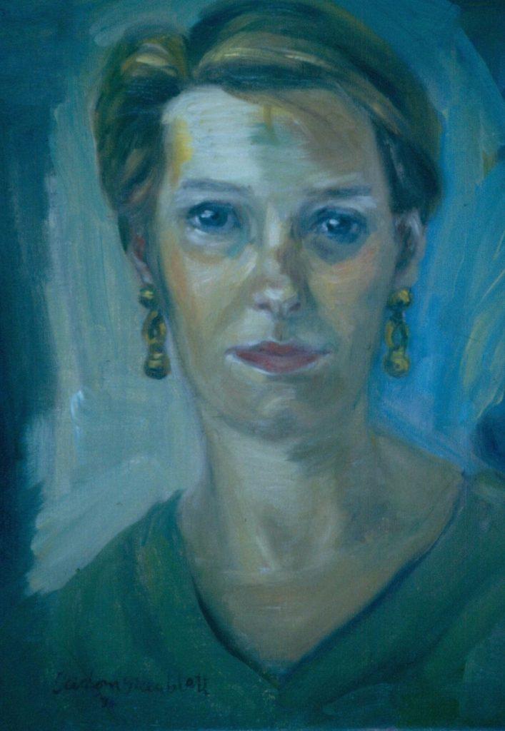 Jill Rabie. 1994. Oil on Canvas. 38x49cm