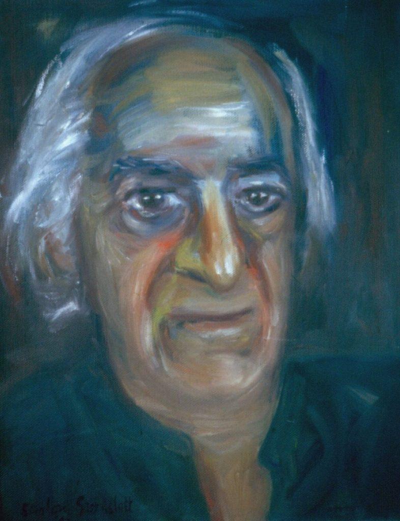 Joe Wolpe. 1993.Oil on Canvas 38x49cm