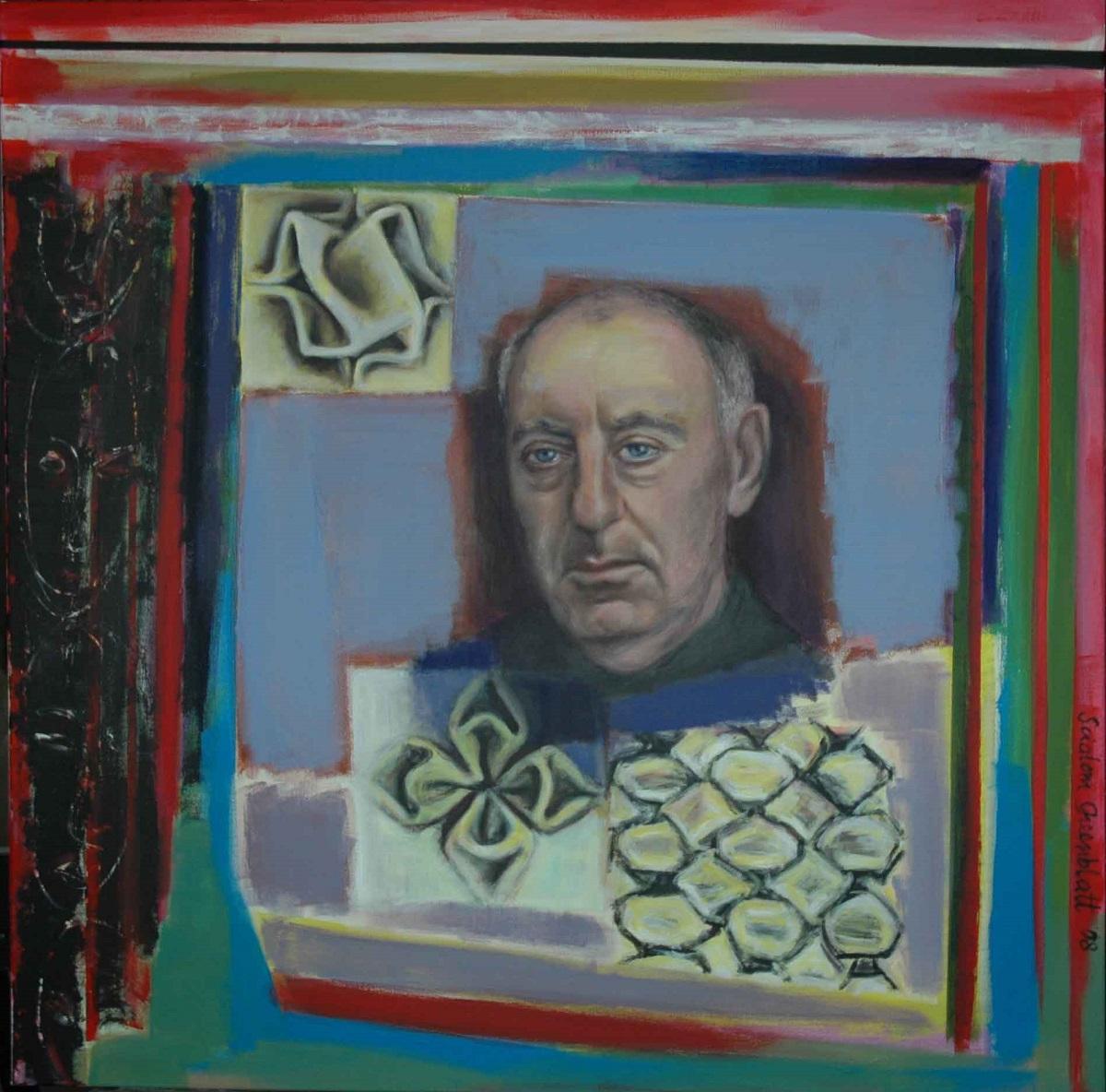 John I, 2008, Acrylic on Canvas, 100x100cm