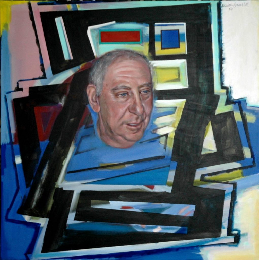 John I'. 2010. Acrylic on Canvas. 100x100cm