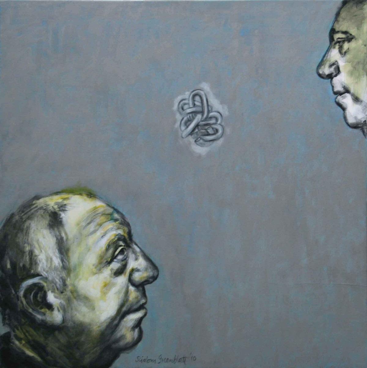 John III, 2010, Acrylic on Canvas, 100x100cm