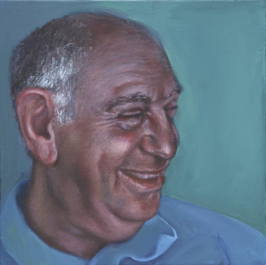 John V. 2014. Acrylic on Canvas . 50x50cm