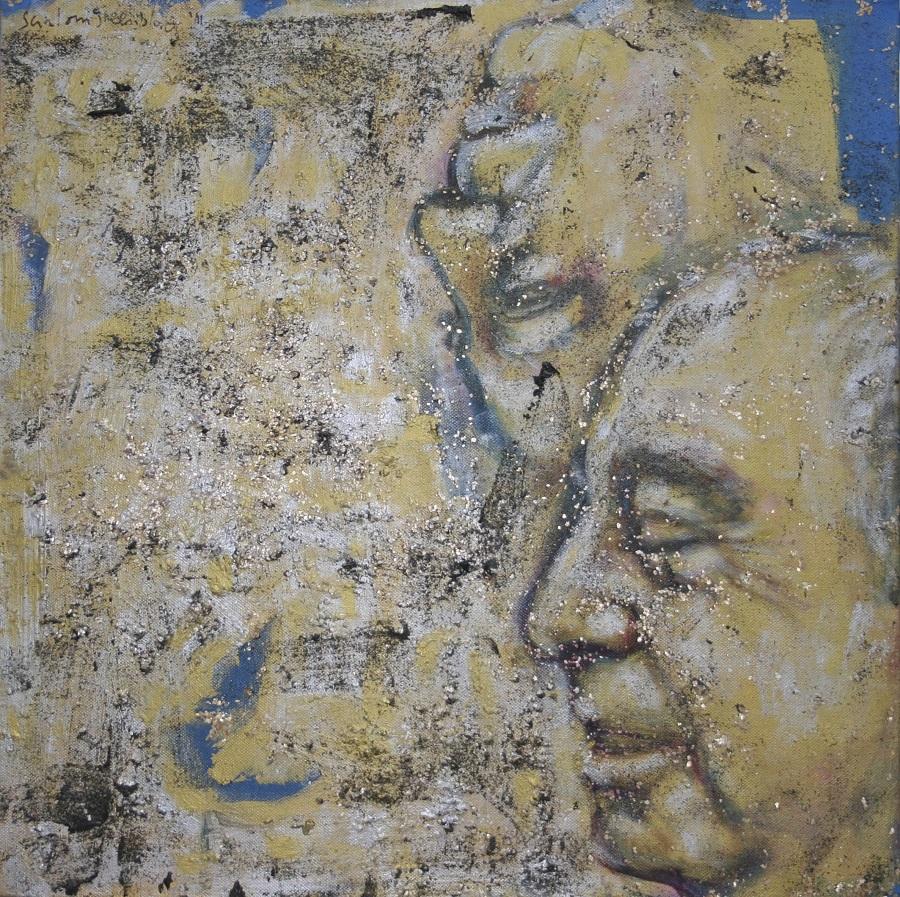 John IV, 2011, Acrylic on Canvas, 50 x 50 cm