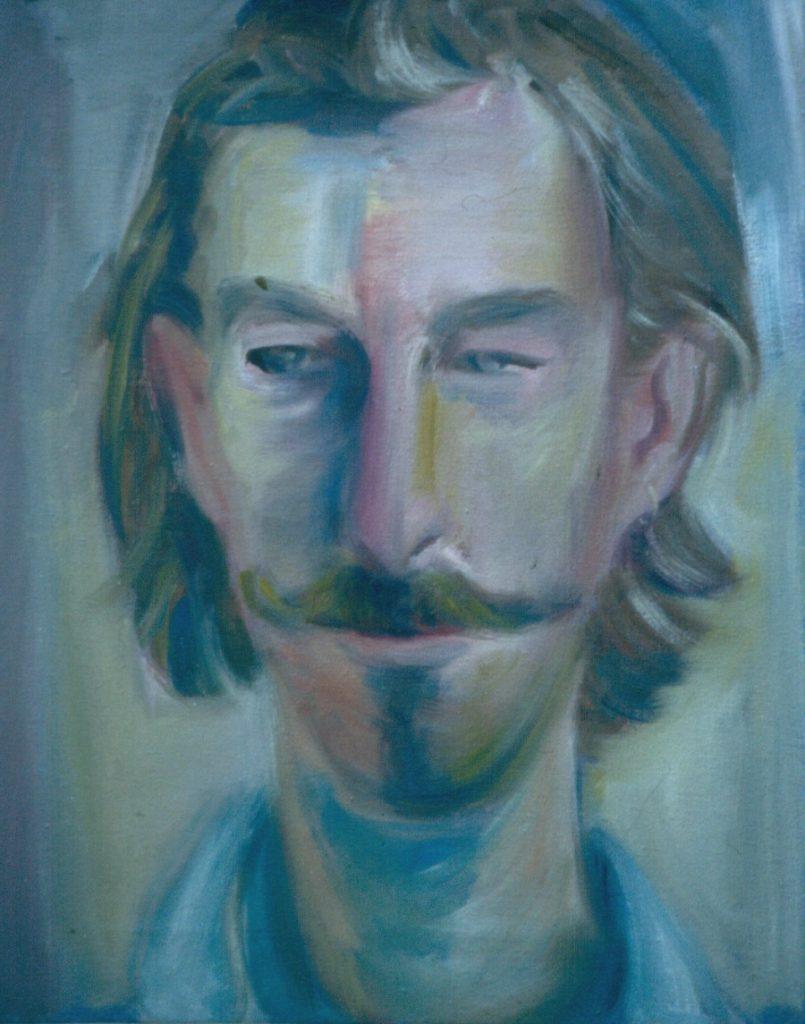 Jonathan Cummerford. 1993.Oil on Canvas 38x49cm