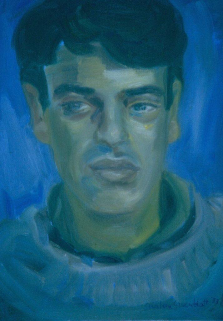 Jonathan Hoffman. 1993. Oil on Canvas 38x49cm