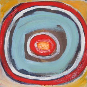 Joy. 2012. Oil on Canvas. 50x50cm