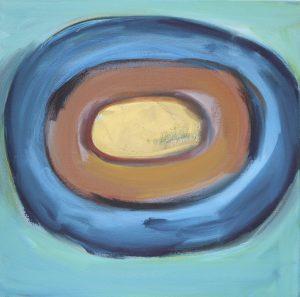 Jupiter. 2012. Oil on Canvas. 50x50cm