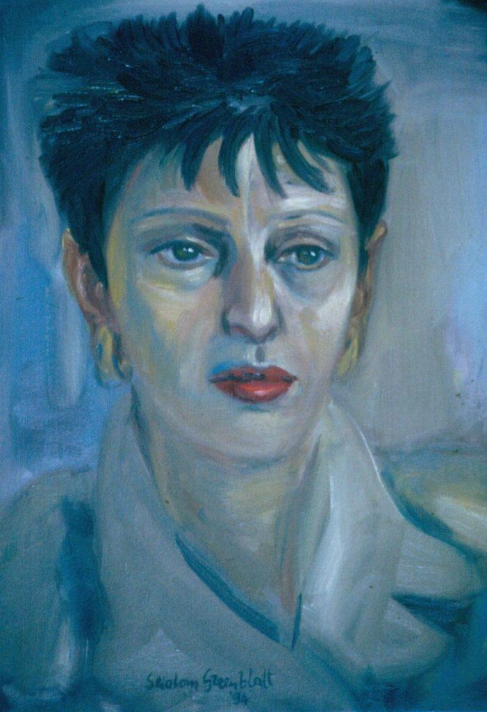 Karen Abrahamson. 1994. Oil on Canvas. 38x49cm