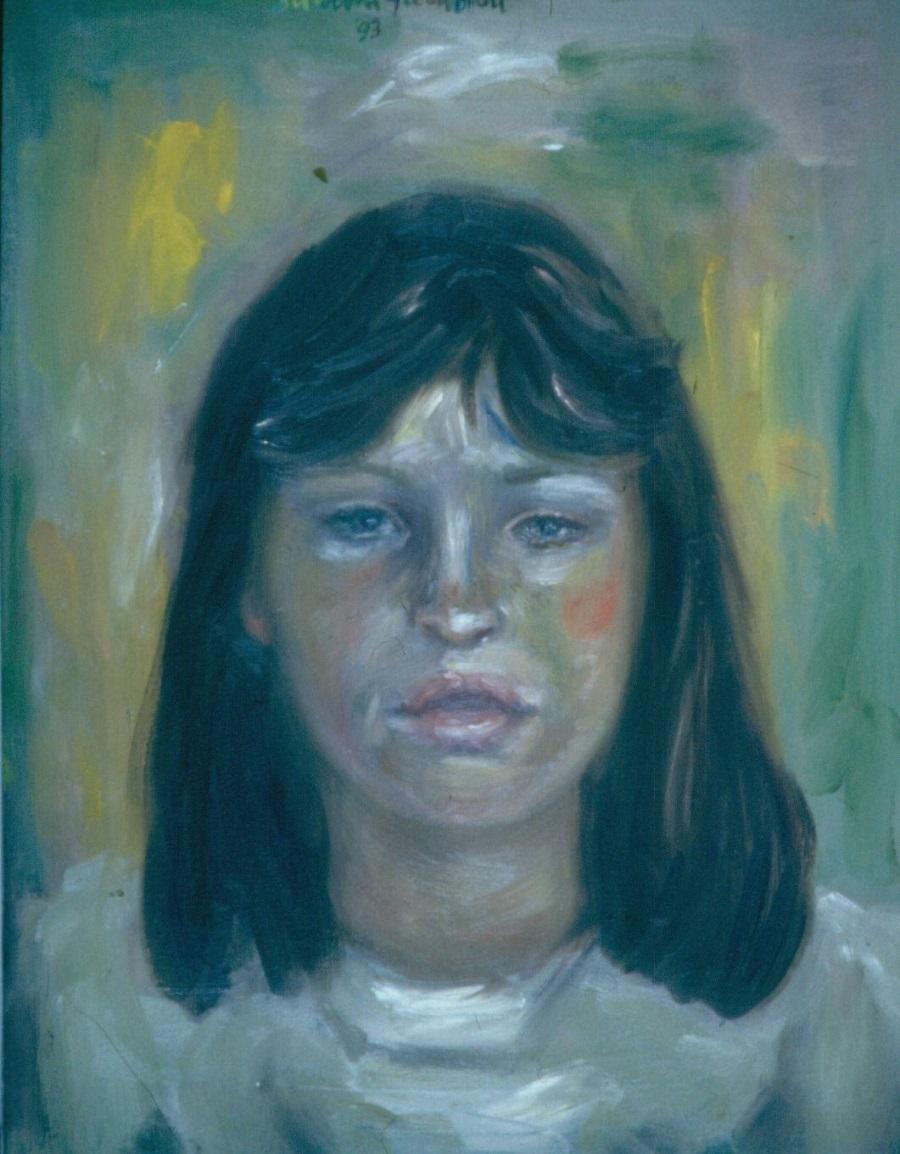 Lauren Walt. 1993. Oil on Canvas 38x49cm