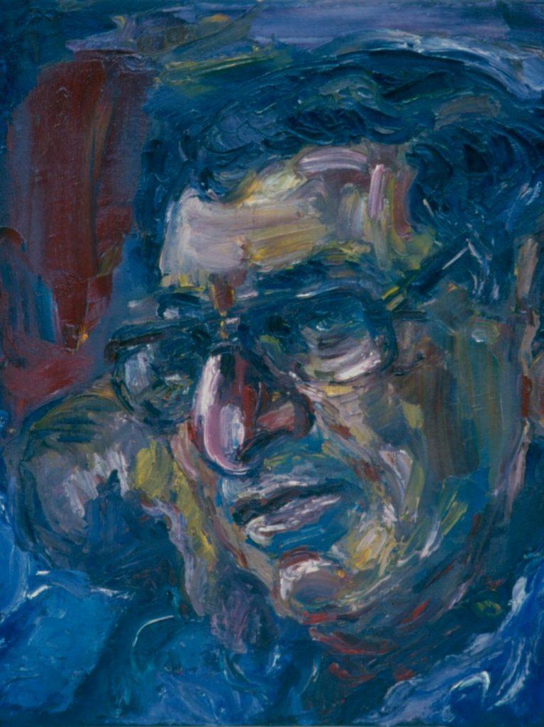 Les Marcow. 1994. Oil on Canvas 38x49cm