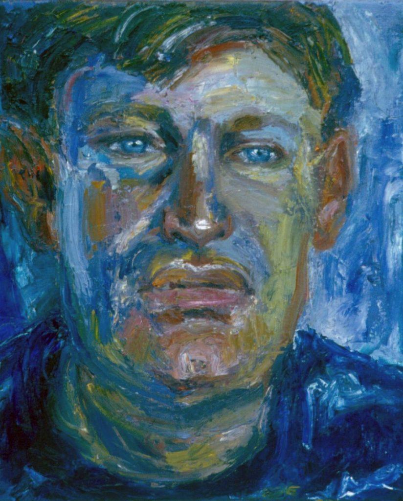 Louis Jansen van Vuuren. 1993. Oil on Canvas 38x49cm