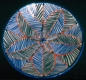 Marakesh, 1998  Ceramic, 51cm Diameter