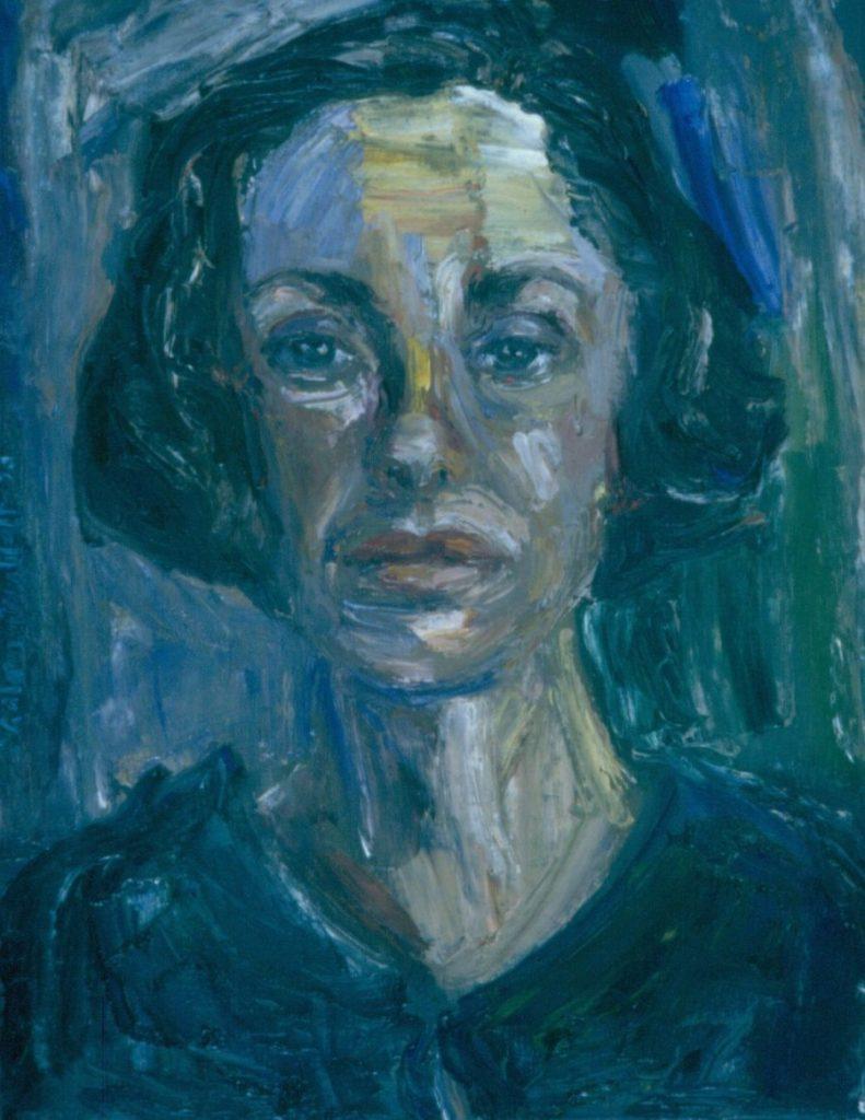 Marilyn Martin. 1994. Oil on Canvas. 38x49cm
