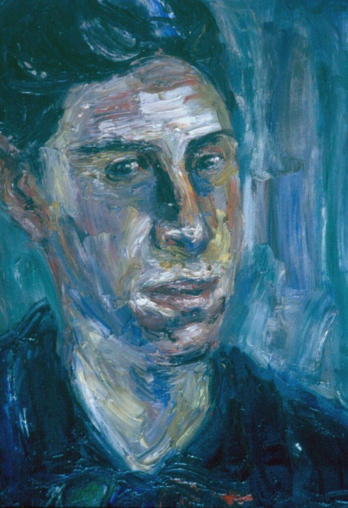Martin Jacobs. 1994. Oil on Canvas. 49x38cm