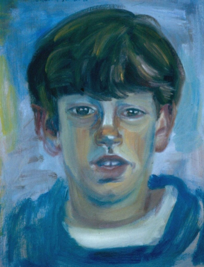 Michel Joffe. 1994. Oil on Canvas. 38x49cm