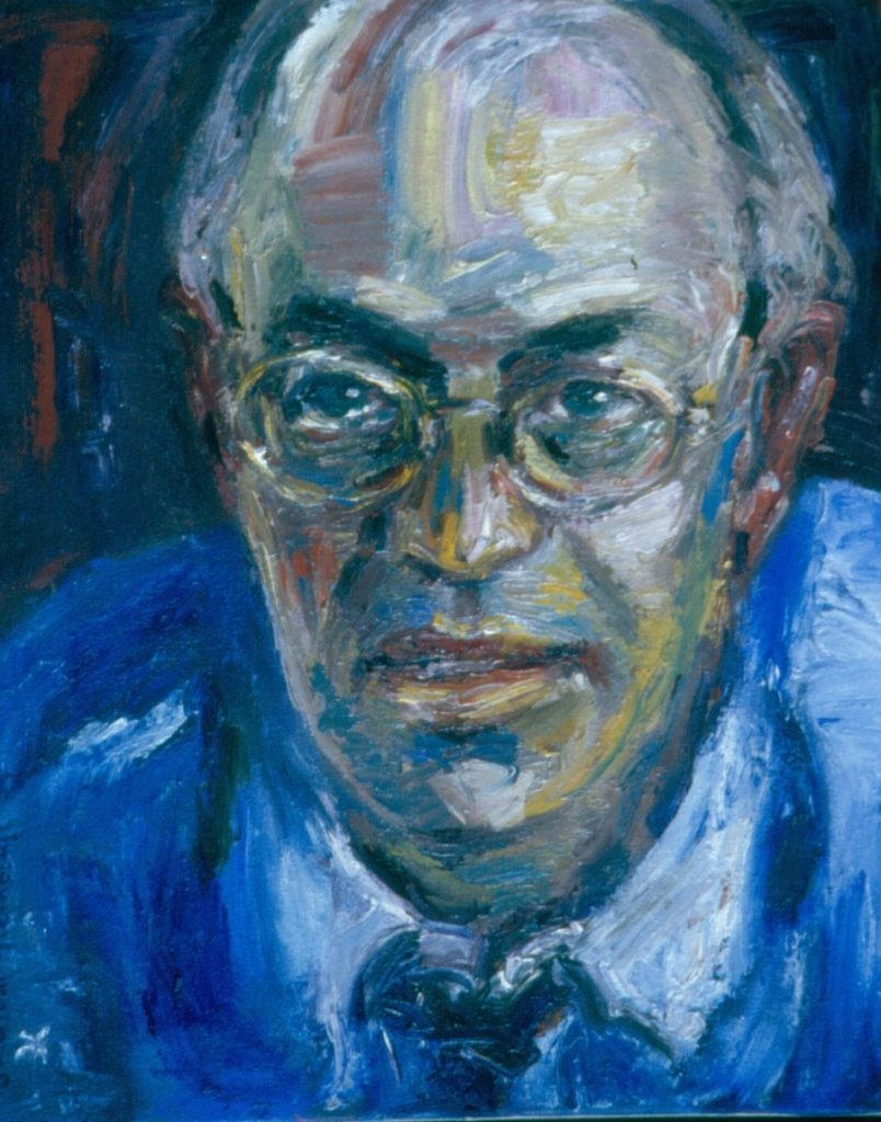 Mike. 1994. Oil on Canvas. 49x38cm