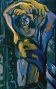 Oil on canvas. 130x195cm