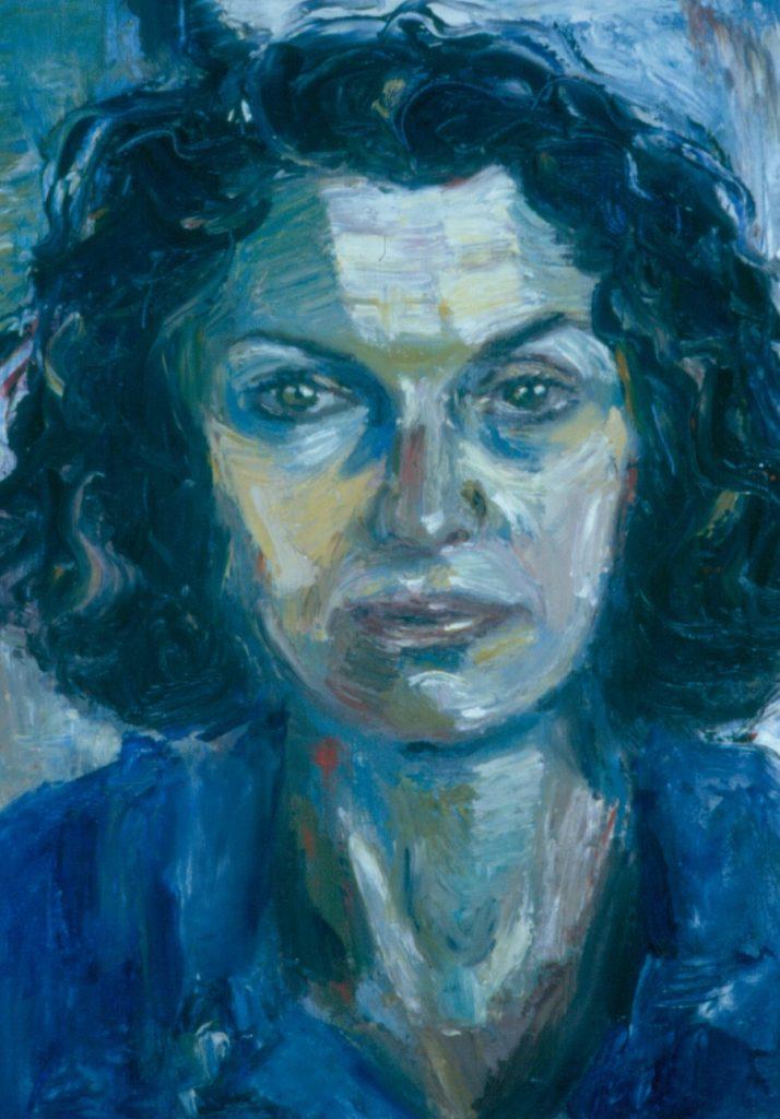 Nina Kovensky. 1994.Oil on Canvas 38x49cm
