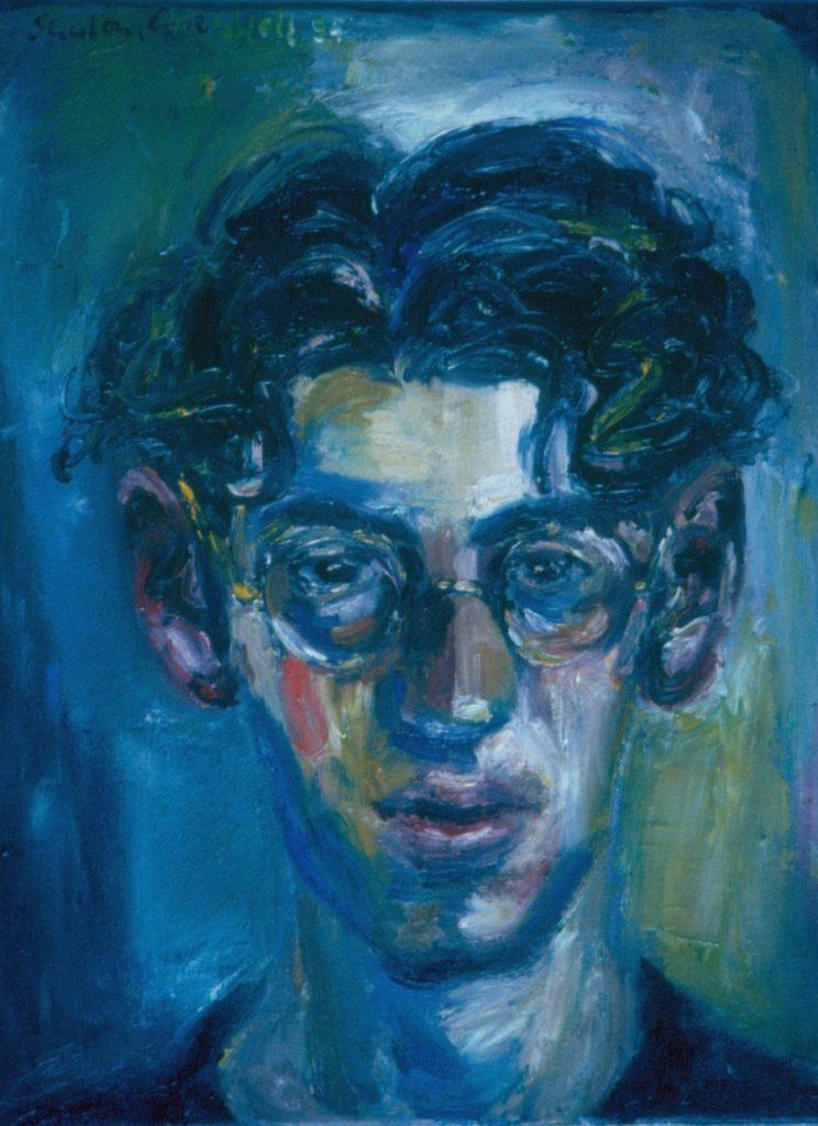 Nolan. 1992. Oil on Canvas 38x49cm