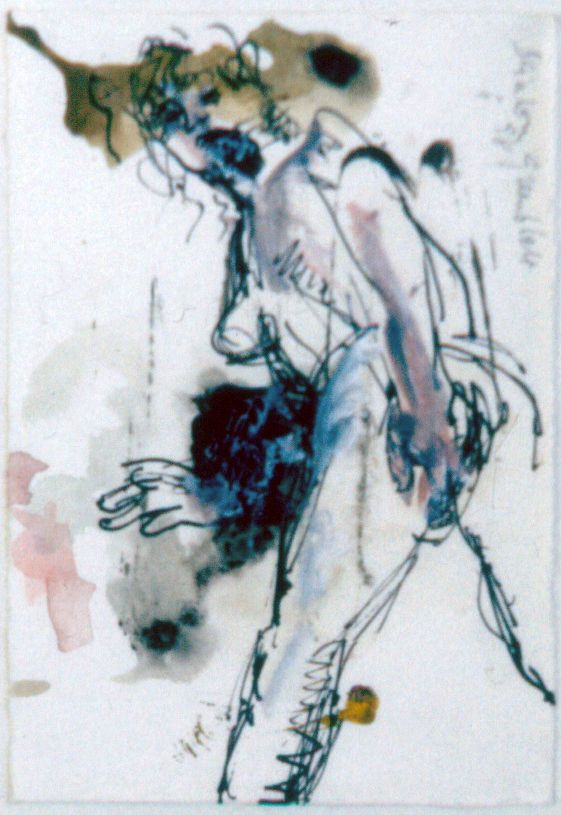 Nude I. 1998. Ink on Paper. 22x30cm