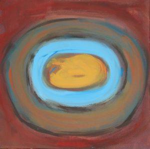 Paprika. 2012. Oil on Canvas. 50x50cm
