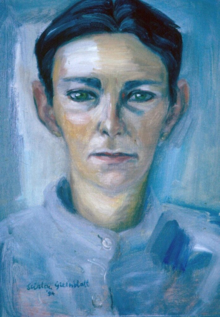 Patsy Muller. 1994. Oil on Canvas 38x49cm