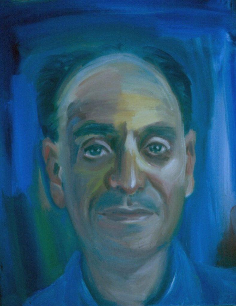 Philip Todres. 1993.Oil on Canvas 38x49cm