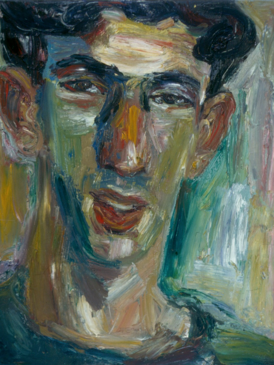 Russel Nerwich, 1993. Oil on Canvas. 38x49cm
