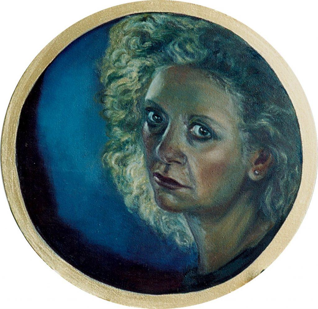 Self Portrait II. 1990. Oil on Canvas.