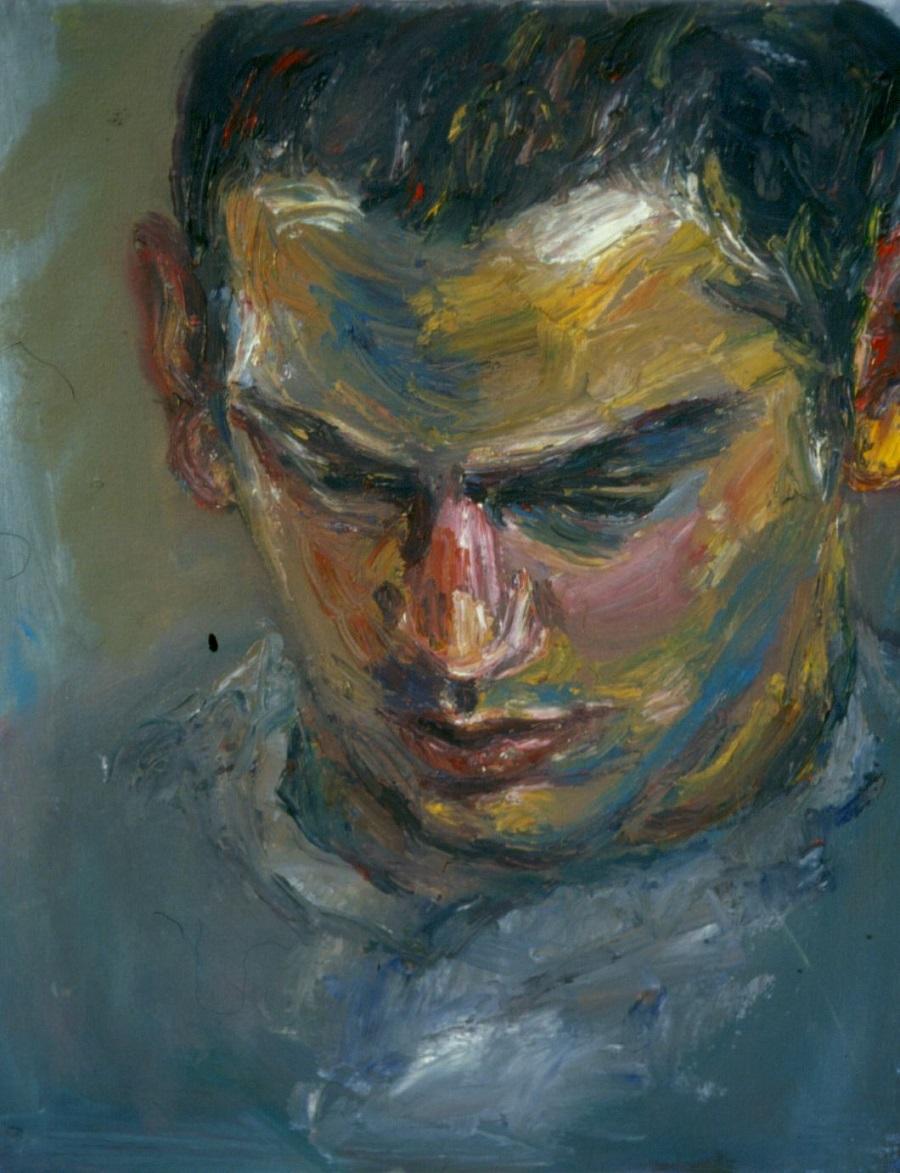 Shaun Abrahamson. 1994. Oil on Canvas. 38x49cm