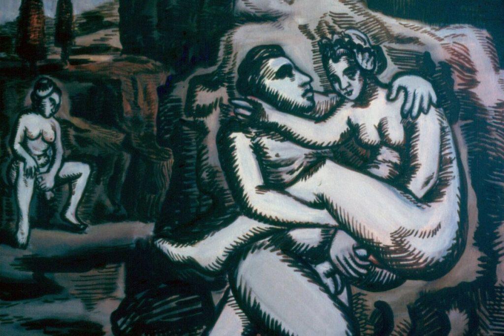 Sienna, 1994. Oil on Canvas; 110x79cm;