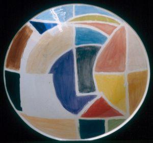 Stella, 1998  Ceramic, 51cm Diameter