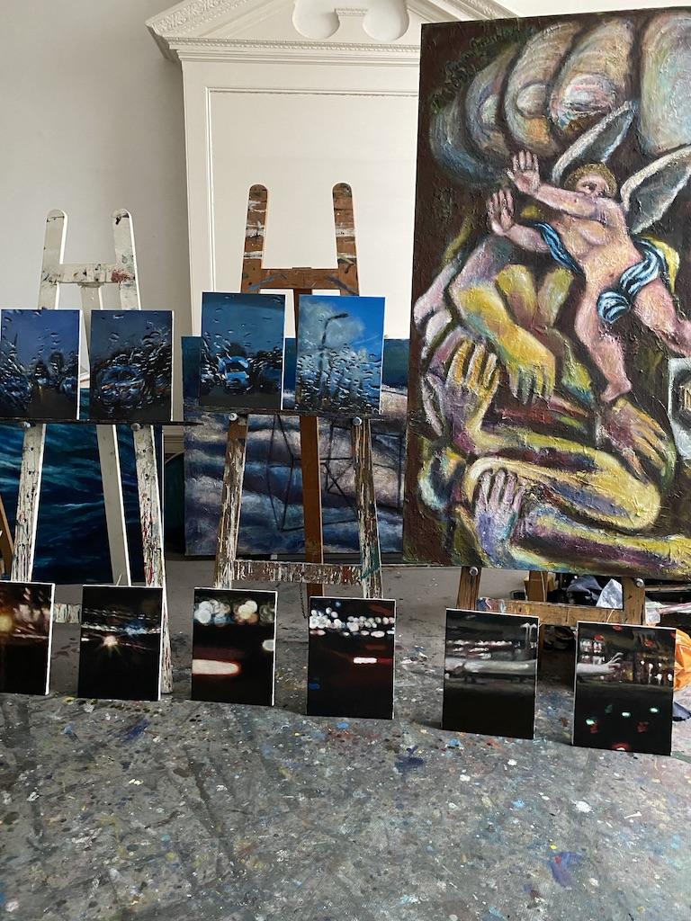 Francine Scialom Greenblatt. Studio April 2019
